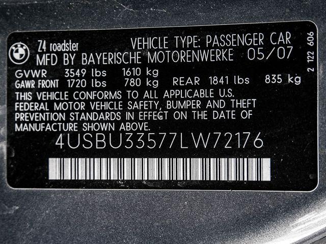 2007 BMW Z4 3.0i Burbank, CA 24
