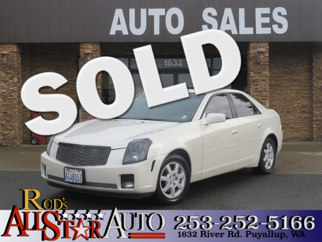 2007 Cadillac CTS The CARFAX Buy Back Guarantee that comes with this vehicle means that you can bu
