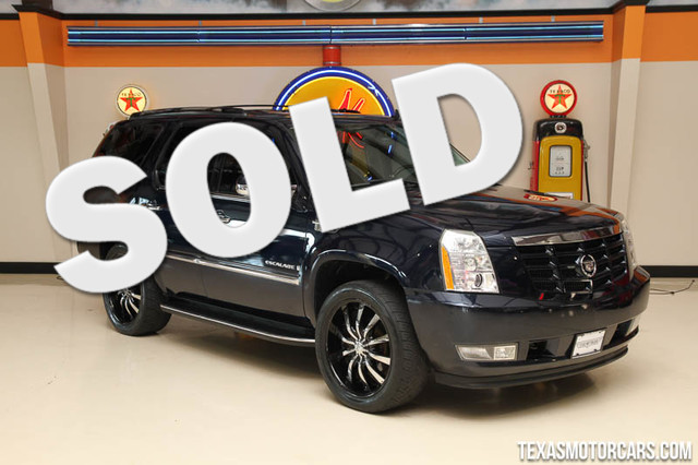 2007 Cadillac Escalade Financing is available with rates as low as 29 wac Get pre-approved in