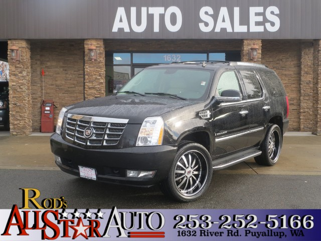 2007 Cadillac Escalade AWD The CARFAX Buy Back Guarantee that comes with this vehicle means that y
