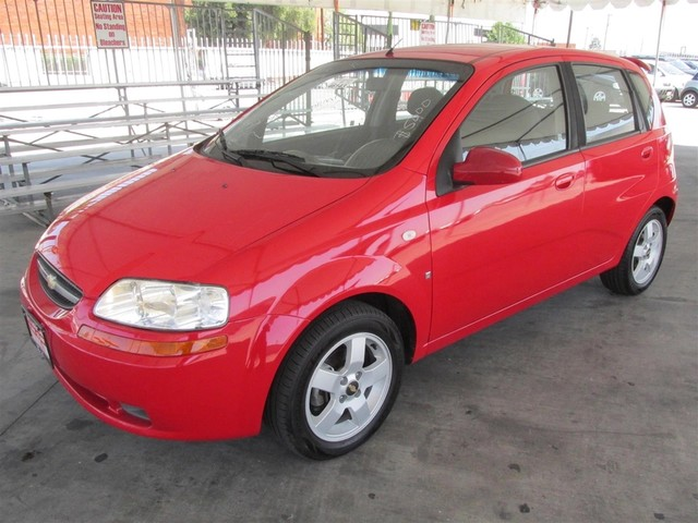 2007 Chevrolet Aveo LS This particular vehicle has a SALVAGE title Please call or email to check