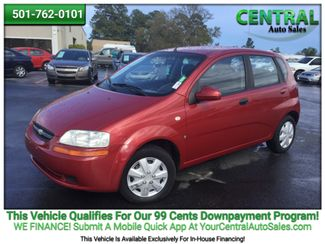2007 Chevrolet Aveo LS   Hot Springs, AR   Central Auto Sales in Hot Springs AR