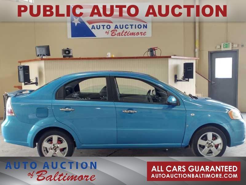 2007 Chevrolet Aveo LT | JOPPA, MD | Auto Auction of Baltimore  in JOPPA MD