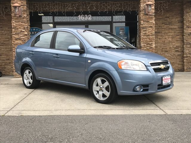 2007 Chevrolet Aveo LT Clean CARFAX Icelandic Blue 2007 Chevrolet Aveo LT FWD 4-Speed Automatic w