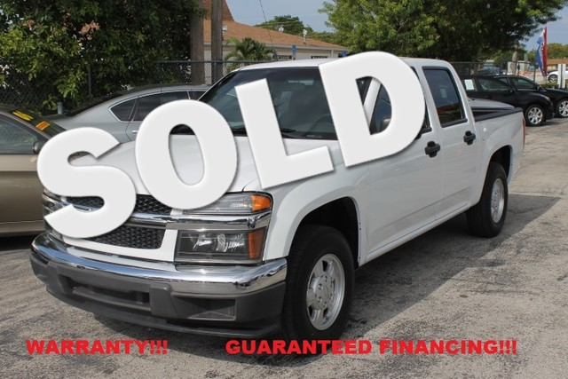 2007 Chevrolet Colorado LT w1LT  WARRANTY CARFAX CERTIFIED AUTOCHECK CERTIFIED 2 OWNERS FL