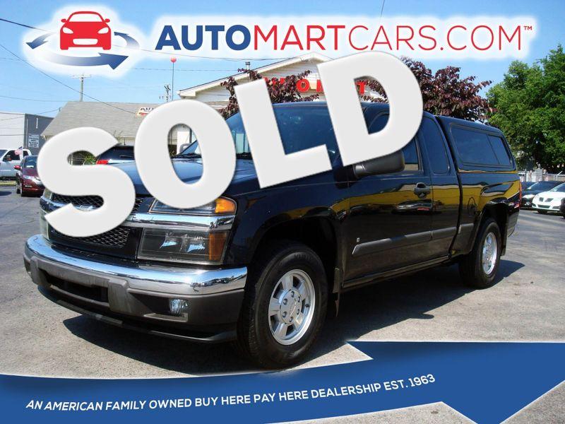 2007 Chevrolet Colorado LT w/1LT   Nashville, Tennessee   Auto Mart Used Cars Inc. in Nashville Tennessee