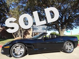 2007 Chevrolet Corvette Convertible 3LT, Chromes, Power Top, Corsa, 23k! Dallas, Texas