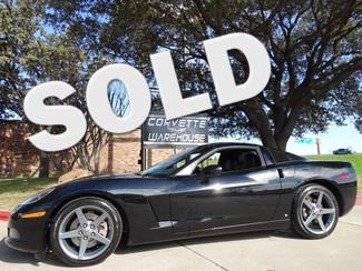 2007 Chevrolet Corvette Coupe 6 Speed, Gray Wheels, Black On Black! Dallas, Texas