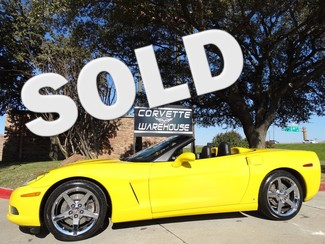 2007 Chevrolet Corvette Convertible 3LT, NAV, Z51, Chromes, Auto, 27k! Dallas, Texas