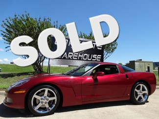 2007 Chevrolet Corvette Coupe 3LT, NAV, 6 Speed, Chrome Wheels! Dallas, Texas