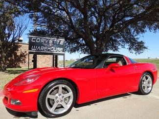2007 Chevrolet Corvette Coupe Auto, Glass Top, Chrome Wheels 64k!  in Dallas Texas
