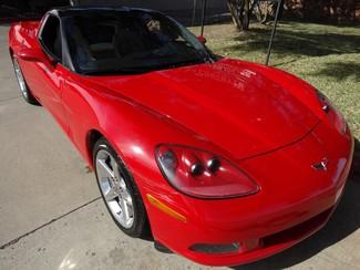 2007 Chevrolet Corvette Coupe Auto, Glass Top, Chrome Wheels 64k!  in Dallas, Texas