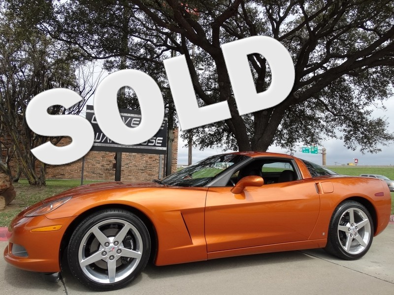 2007 Chevrolet Corvette Coupe Auto, Polished Wheels, Only 29k!