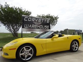 2007 Chevrolet Corvette Convertible 3LT, NAV, Auto, Pwr Top, Chromes 39k! | Dallas, Texas | Corvette Warehouse  in Dallas Texas