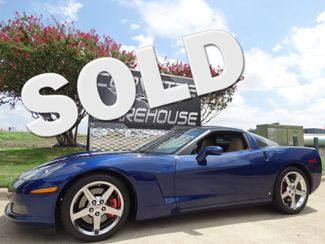 2007 Chevrolet Corvette Coupe 3LT, Z51, Glass Top, Chromes 32k! | Dallas, Texas | Corvette Warehouse  in Dallas Texas