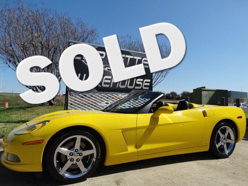 2007 Chevrolet Corvette Convertible 3LT, Z51, NAV, Chromes 20k!   Dallas, Texas   Corvette Warehouse