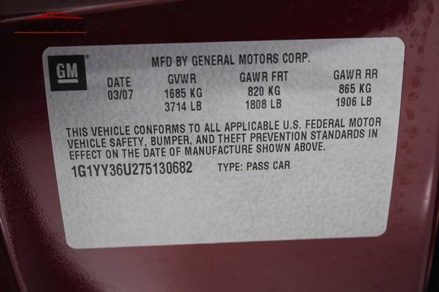 2007 Chevrolet Corvette Merrillville, Indiana 49