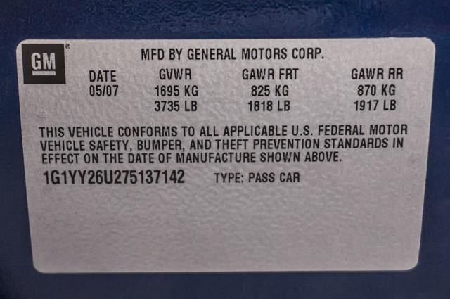 2007 Chevrolet Corvette  Z51 - AUTO - NAVI - 38K MILES - ROOF PKG Reseda, CA 34