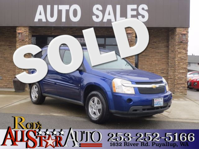 2007 Chevrolet Equinox LS AWD Our LS luxury sport 2007 used Chevrolet Equinox will probably end