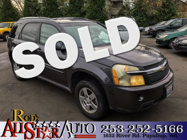 2007 Chevrolet Equinox LT The CARFAX Buy Back Guarantee that comes with this vehicle means that yo