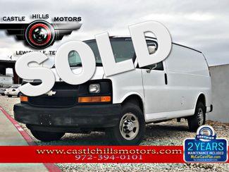 2007 Chevrolet Express Cargo Van Work Van | Lewisville, Texas | Castle Hills Motors in Lewisville Texas