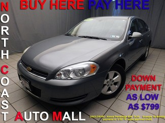 2007 Chevrolet Impala 3.5L LT As low as $799 DOWN in Cleveland, Ohio