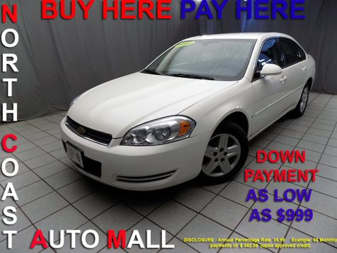 2007 Chevrolet Impala LS As low as $999 DOWN in Cleveland, Ohio