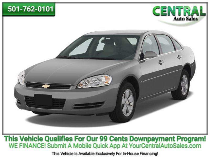 2007 Chevrolet Impala 3.9L LT | Hot Springs, AR | Central Auto Sales in Hot Springs AR