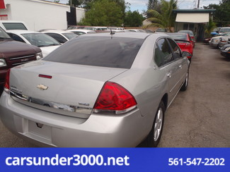 2007 Chevrolet Impala 3.5L LT Lake Worth , Florida 2