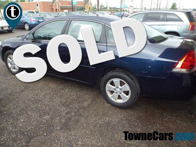 2007 Chevrolet Impala 3.5L LT   Medina, OH   Towne Auto Sales in Medina OH