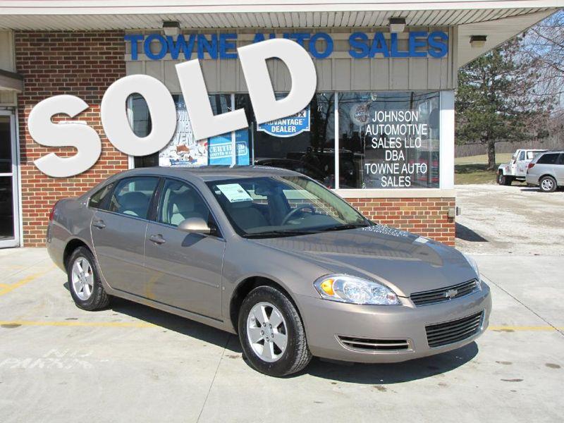2007 Chevrolet Impala 3.5L LT | Medina, OH | Towne Cars in Medina OH