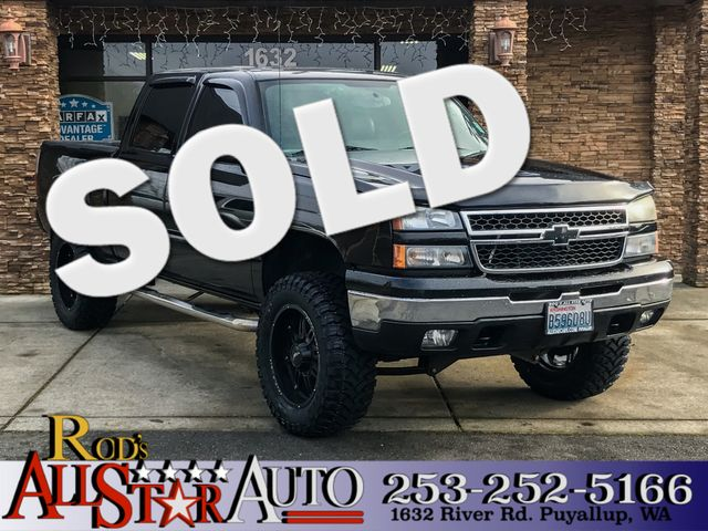 2007 Chevrolet Silverado 1500 Classic LT3 4WD The CARFAX Buy Back Guarantee that comes with this v