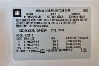 2007 Chevrolet Silverado 2500 HD LT Crew Cab 4X4 Z71 6.6L Duramax Diesel Allison Auto LIFTED LOADED Sealy, Texas 72