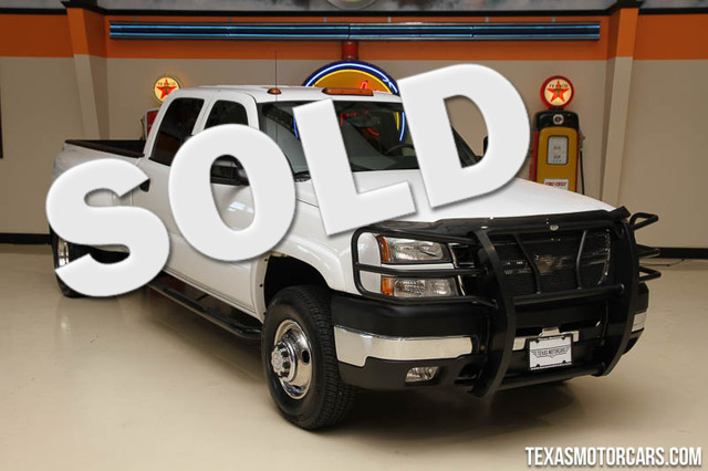 2007 Chevrolet Silverado 3500 Classic DRW LT3 Financing is available with rates as low as 29 wa
