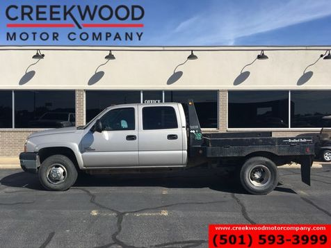 2007 Chevrolet Silverado 3500 Classic LT 4x4 Diesel LBZ Dually Service Flatbed Utility in Searcy, AR
