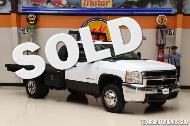 2007 Chevrolet Silverado 3500HD WT This clean Carfax 2007 Chevrolet 3500HD Flatbed is in great con