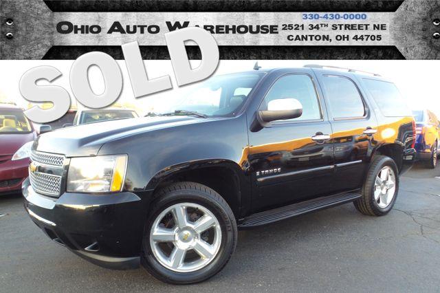 2007 Chevrolet Tahoe LTZ 4x4 Navi Sunroof Clean Carfax We Finance   Canton, Ohio   Ohio Auto Warehouse LLC in Canton Ohio