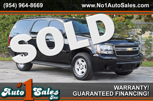 2007 Chevrolet Tahoe LS  WARRANTY CARFAX CERIFIED 23 SERVICE RECORDS FLORIDA VEHICLE TRADES
