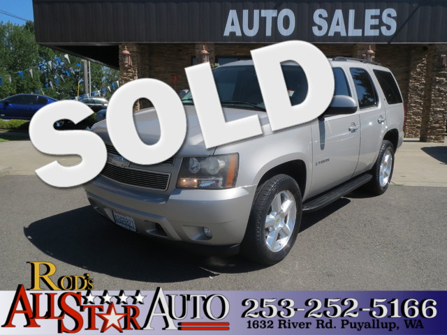 2007 Chevrolet Tahoe LT 4WD The CARFAX Buy Back Guarantee that comes with this vehicle means that