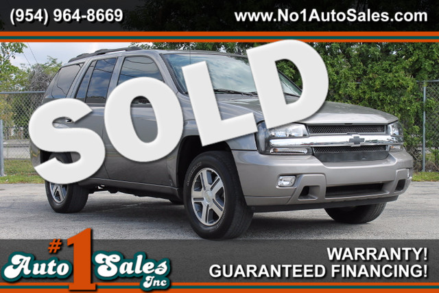 2007 Chevrolet TrailBlazer LT  WARRANTY CARFAX CERIFIED AUTOCHECK CERTIFIED 2 OWNERS 16 SER