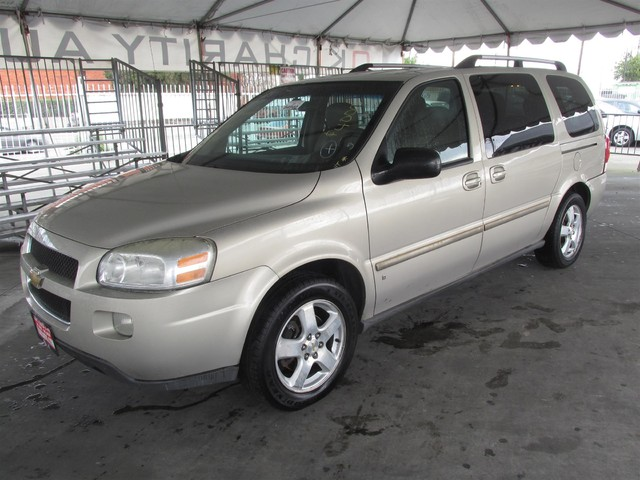 2007 Chevrolet Uplander LT w2LT This particular Vehicle comes with 3rd Row Seat Please call or e