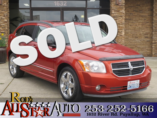 2007 Dodge Caliber RT AWD The CARFAX Buy Back Guarantee that comes with this vehicle means that y