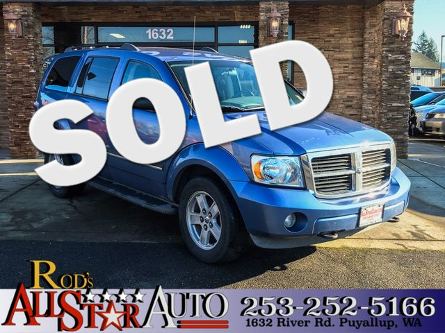 2007 Dodge Durango SLT 4WD The CARFAX Buy Back Guarantee that comes with this vehicle means that y