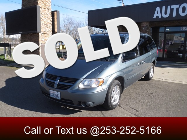 2007 Dodge Grand Caravan SXT The CARFAX Buy Back Guarantee that comes with this vehicle means that