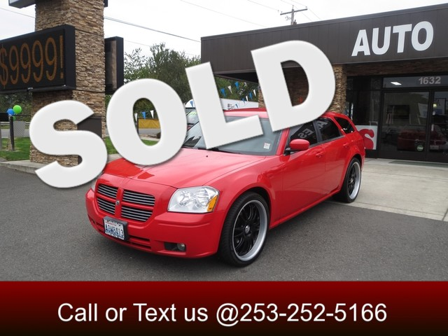 2007 Dodge Magnum The CARFAX Buy Back Guarantee that comes with this vehicle means that you can bu
