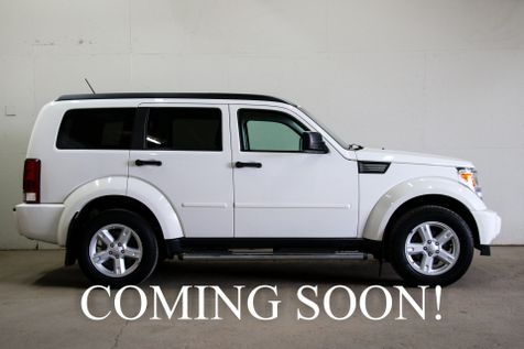 2007 Dodge Nitro SXT 4x4 Sport SUV with Appearance Pkg, 17-Inch Wheel Upgrade & VERY Low Miles in Eau Claire