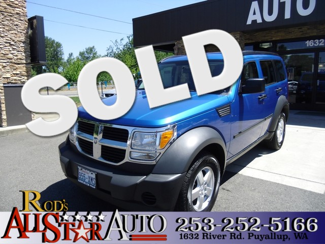 2007 Dodge Nitro SXT The CARFAX Buy Back Guarantee that comes with this vehicle means that you can