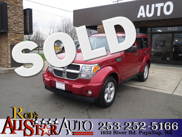 2007 Dodge Nitro SLT 4WD The CARFAX Buy Back Guarantee that comes with this vehicle means that you