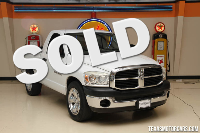 2007 Dodge Ram 1500 ST This clean Carfax 2007 Dodge Ram 1500 ST is in great shape with only 204 3