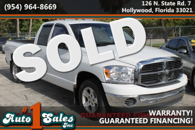 2007 Dodge Ram 1500 SLT  WARRANTY CARFAX CERTIFIED AUTOCHECK CERTIFIED 3OWNERS FLORIDA VEHI